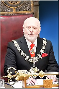 Mayor 2018, Cllr John Singleton
